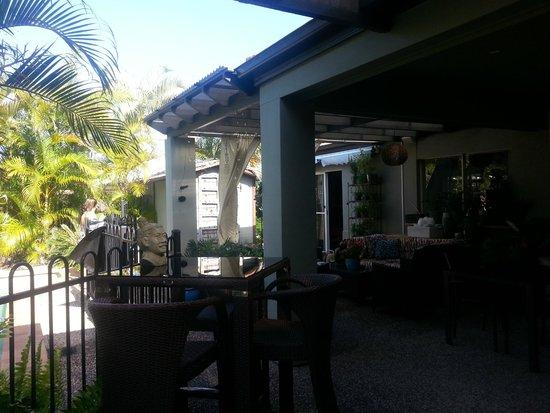 Avon Lodge Bed & Breakfast: rest area