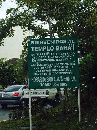 Bahai Temple: Opening hours