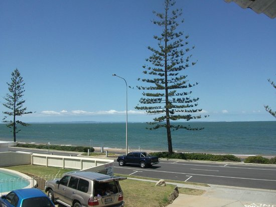 Waltzing Matilda Motel: View from balcony