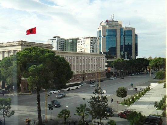 View From Room At Rogner Hotel Tirana Picture Of Rogner Hotel Tirana Tripadvisor