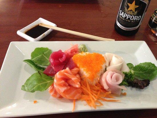 Oudom Thai & Sushi Restaurant : A Fabulous Sashimi Showpiece Dinner at Oudom Thai in Mount Dora