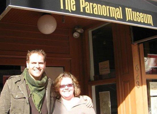 Paranormal Books and Curiosities & Paranormal Museum: Josh Gates visits The Paranormal Museum