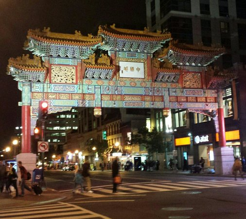 Chinatown Archway : Chinatown in D.C.