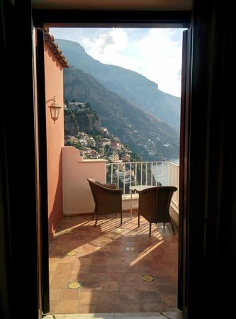 Casa Albertina: View from our double superior room number 31