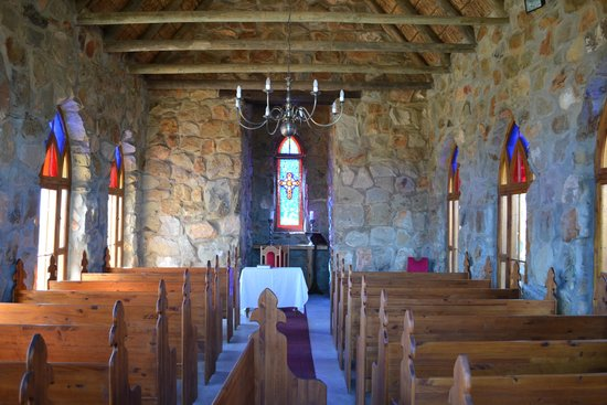 Lord's Guest Lodge-McGregor: Inside the chapel.