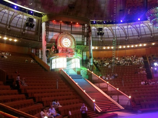 Great Moscow State Circus on Vernadskogo: Inside the circus