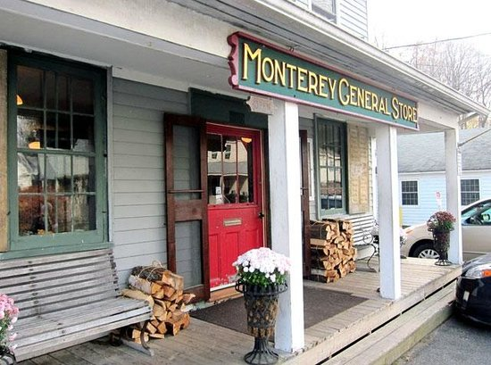 The Monterey General Store: Inviting exterior of the general store