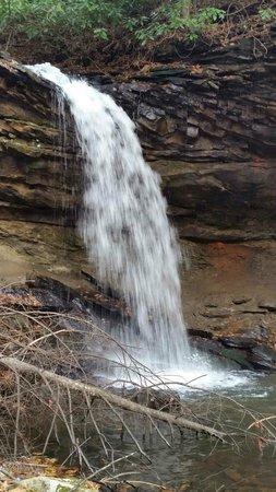 Twin Falls State Park: Black Fork Falls