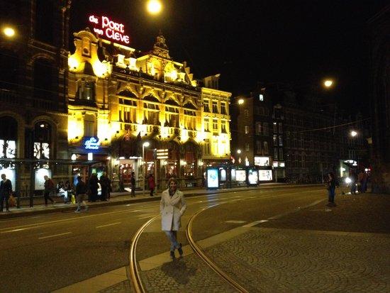 Die Port van Cleve: vista da frente do hotel