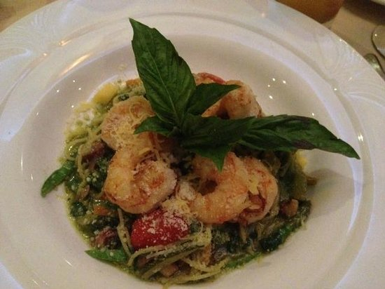 Char's at Tracy Mansion: Pasta Du Jour