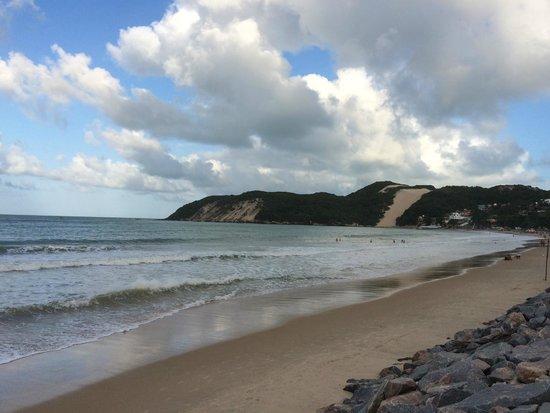 Foto De Ponta Negra Beach Natal Frase Na Olra De Natal