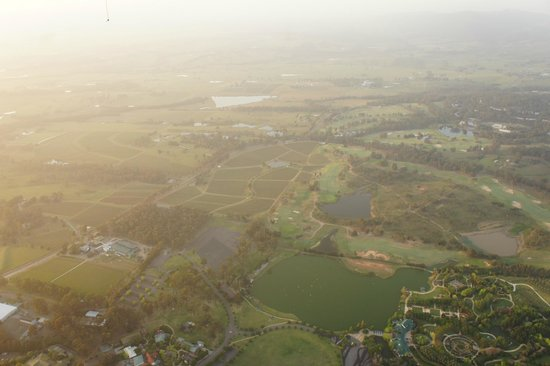 Hunter Valley: Splendid view from above
