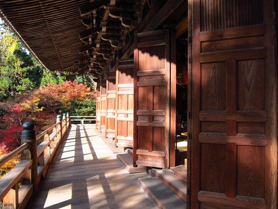 Mt Shosha hiking: the temple