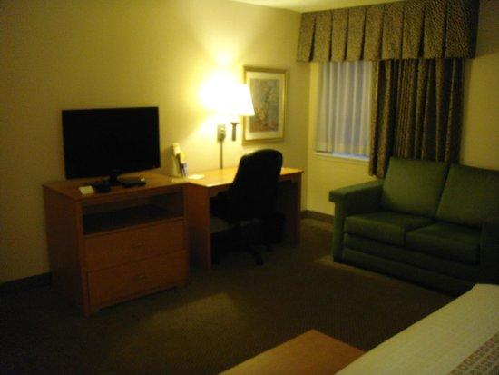 La Quinta Inn & Suites Tampa Fairgrounds - Casino: TV & desk