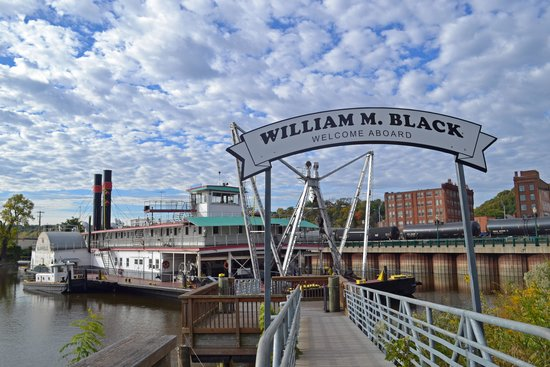 Entrance to the William M. Black Dredge Boat - Picture of ...