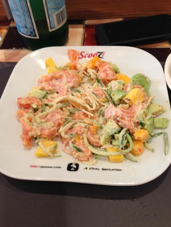 scoozi: Amazing Crap Salad Fusion