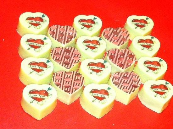 Cocoa Hearts : Chocolate Hearts