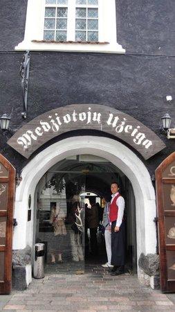Medziotoju Uzeiga: レストラン入口