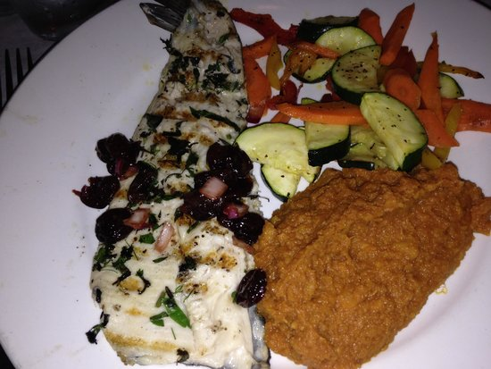L.May Eatery: Delicious Trout Dinner