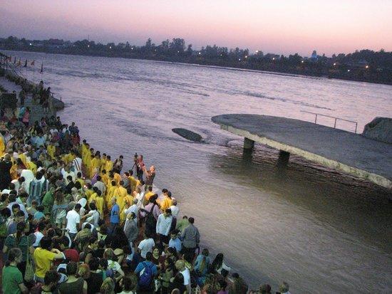 Hotel Green View : Ganga arati