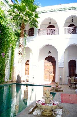 Riad Shama : main courtyard