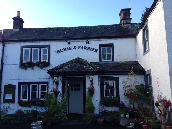 The Horse and Farrier Inn: 18th century pub in Dacre.