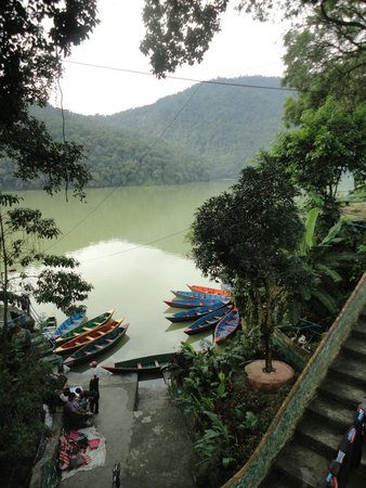 Trek-O-Tel: Phewa Lake across the hotel