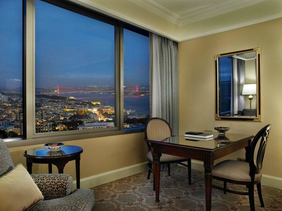 The Ritz-Carlton, Istanbul: Partial Bosphorus View Room