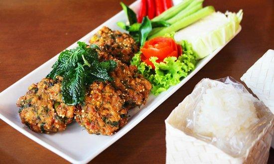 Nalin Kitchen: Thai meat balls