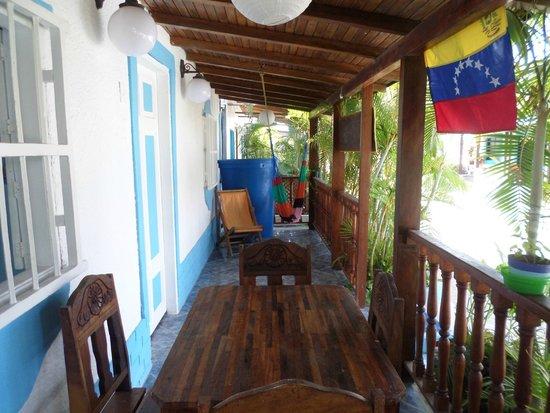 Posada La Langosta: entrada