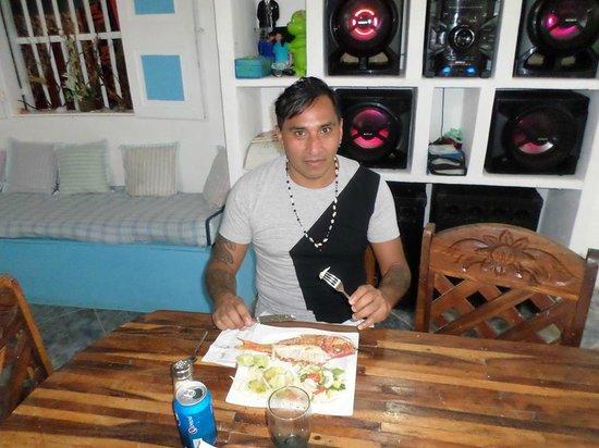 Posada La Langosta: cena