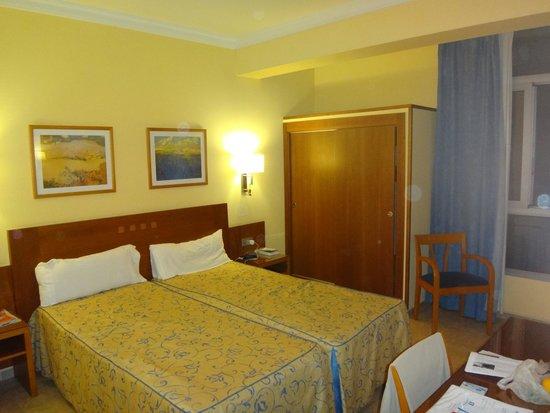 Hotel Pujol : la chambre