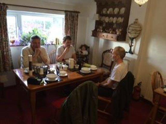 Old Whitewell Farm Bed & Breakfast: Breakfast