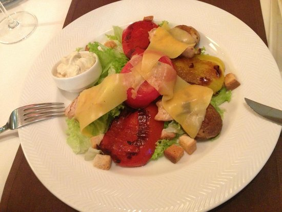 Pegas Restaurant & Terrace: Warm Salad