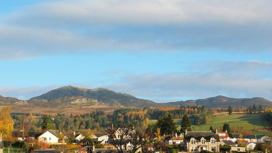 Knockendarroch House Hotel: View North from Room 12 in November