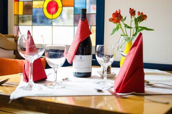 Restaurant Ratsschänke: Tischdeko