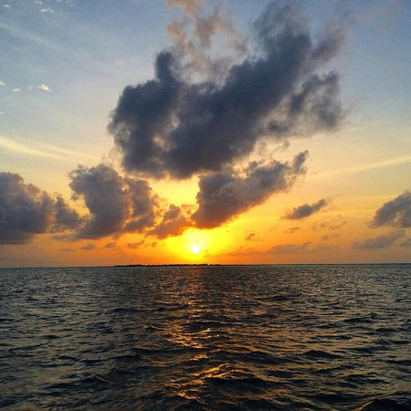Kuramathi: Sunset during sunset cruise