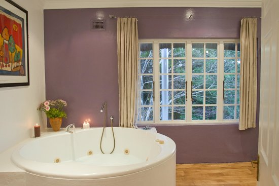 Summerhill Estate Culinary Retreat: bathroom of our executive twin room
