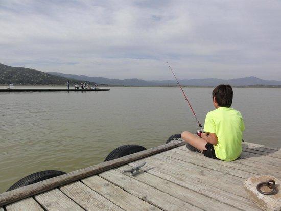 Fishing picture of lake henshaw resort santa ysabel for Lake henshaw fishing