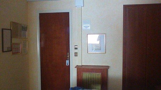 Hotel Trave : entrée chambre