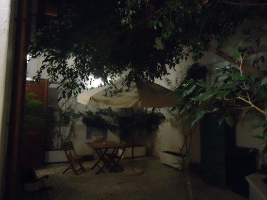 Guesthouse Garibaldi: Giardinetto interno