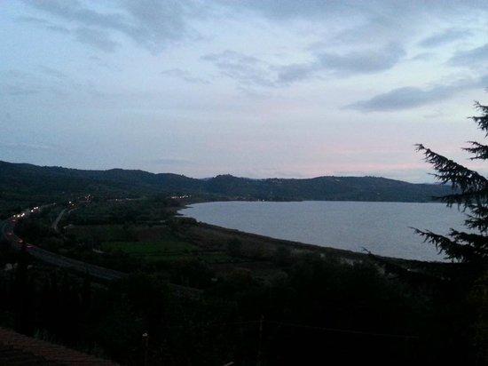 Villa Trasimeno : View from the balcony