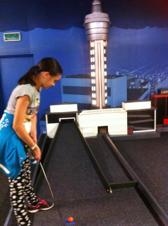CaddyShack City Mini Golf: Golf fun