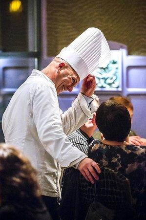 Le Capucin Gourmand : Le chef en action