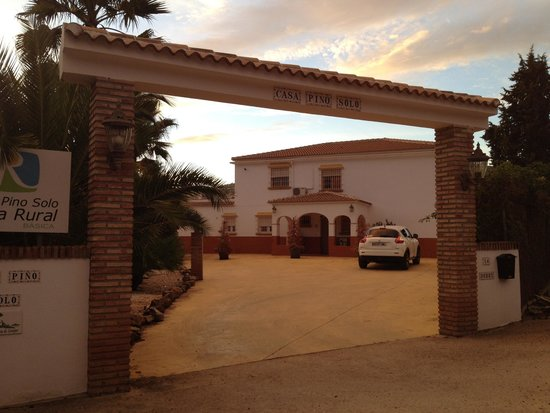 Casa Pino Solo: Entrance to the villa
