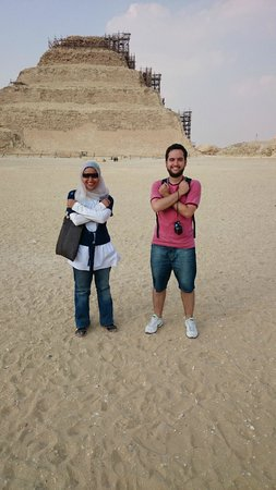Egypt Queen  Day  Tours: Me and Amina - Saqqara