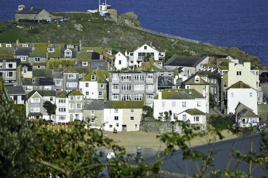 View of st ives picture of chy an albany st ives for 2 albany terrace st ives