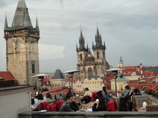 Picture of terasa u prince prague for Terrace u prince prague