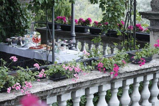 la terrazza romana a picco sull\'adda - Foto di Hotel Belvedere ...