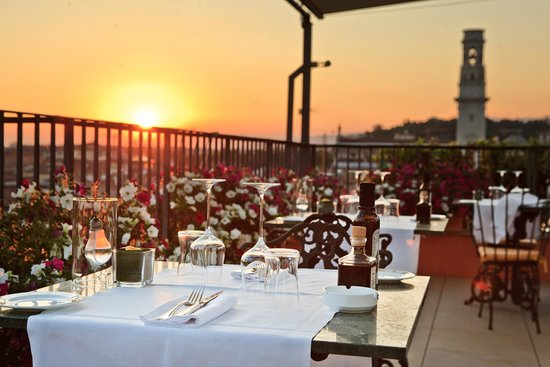 Roof Top Restaurant Review Of Due Torri Lounge Verona Italy Tripadvisor